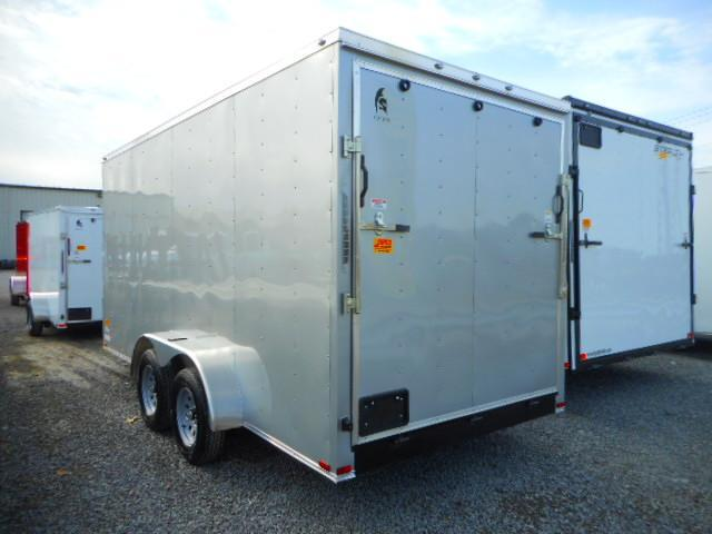 2019 Spartan 7 X 16 Tandem Axle Enclosed Cargo Trailer