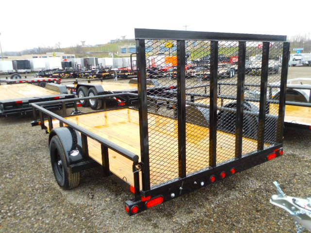 2019 Big Tex Trailers 35SA 6 1/2x12 Utility Trailer