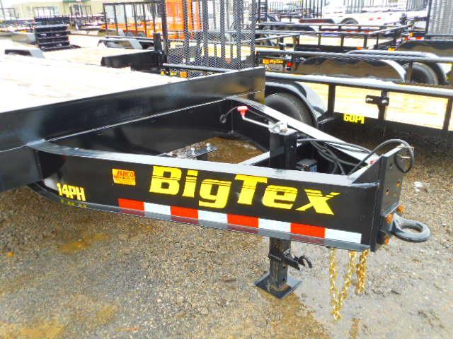 2019 Big Tex Trailers 14PH 102''x20+5 Equipment Trailer