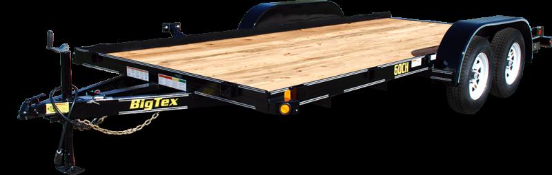 2018 Big Tex Trailers 60CH 7x16 Tandem Axle 6k Car / Racing Trailer