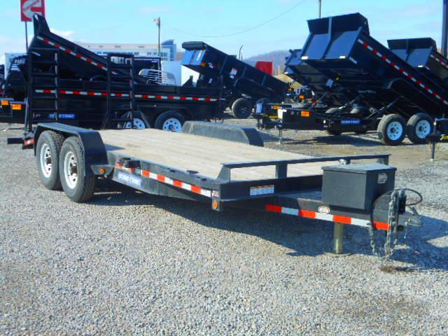 Used 2016 Sure-Trac 81 X 18 14K Implement Equipment Trailer