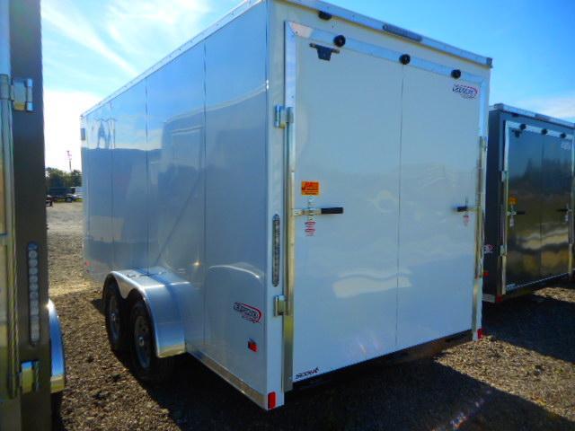 2019 Bravo Trailers Scout 7x16 Tandem Axle Enclosed Cargo Trailer