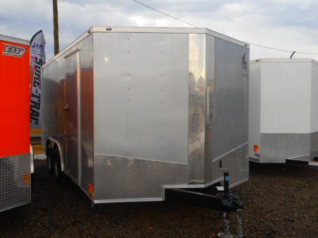 2019 Spartan 8.6 X 16 Tandem Axle Enclosed Cargo Trailer