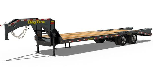 SPECIAL!!!  2018 Big Tex Trailers 25GN 102'' X 32 + 5 Equipment Trailer