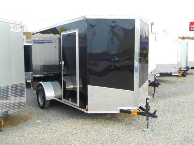 2019 Spartan 6 X 12 Single Axle Enclosed Cargo Trailer