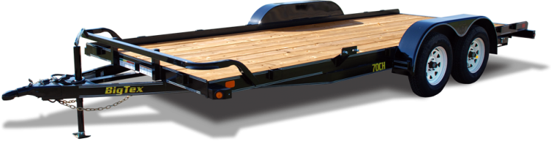 2019 Big Tex Trailers 70CH 83''x18 Tandem Axle 7k  Car / Racing Trailer