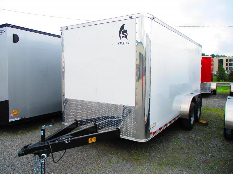2020 Spartan 7 X 16 Enclosed Cargo Trailer
