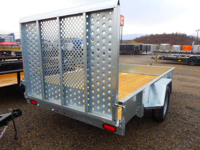 2019 Sure-Trac 6 X 12 Galvanized High Side Utility Trailer