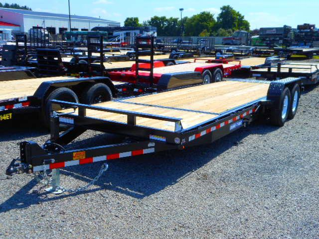 2018 Sure-Trac 7 X 18+4 14K Tilt Bed Equipment Equipment Trailer