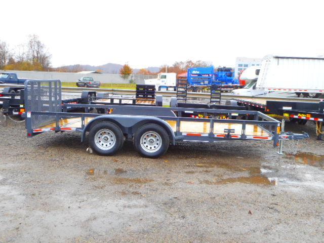 2018 Heartland 7 X 16 With Dovetail Utility Trailer