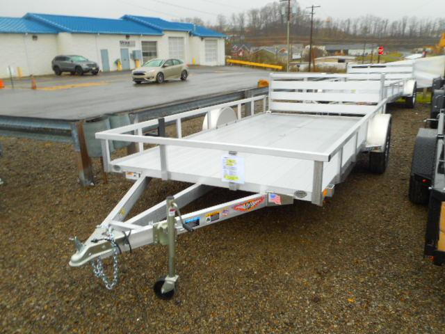 2018 H and H Trailer 82x14 Railside Aluminum Utility Trailer