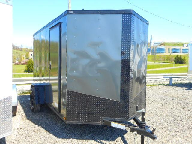 2018 Precision 6x12 Single Axle Enclosed Cargo Trailer