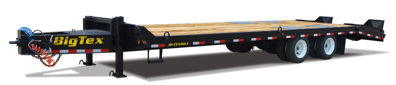 2018 Big Tex Trailers 4XPH 102''x24+5 Low Profile 48k Equipment Trailer
