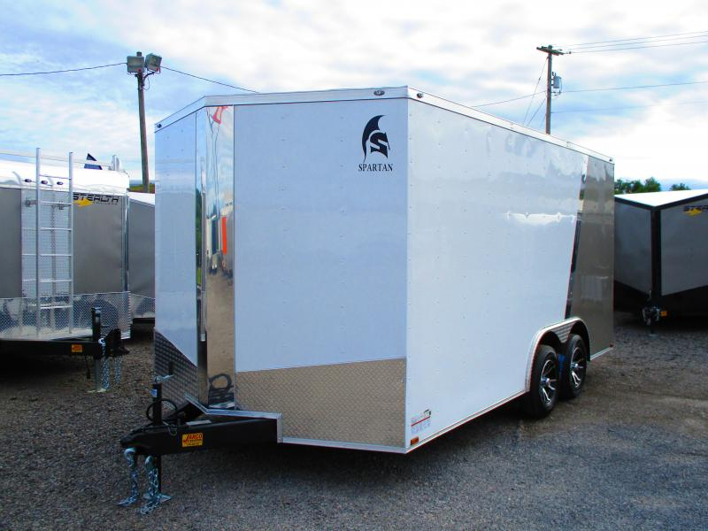 2019 Spartan 8.5 X 16 Enclosed Cargo Trailer