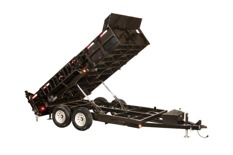 2019 Griffin 6x10 Tandem Axle Dual Ram 10k Dump Trailer