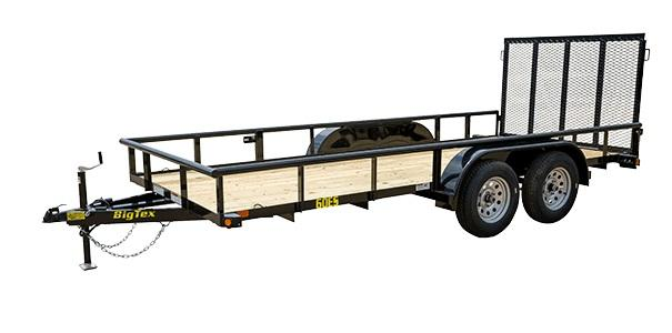 2020 Big Tex Trailers 60ES 77 X 12 Tandem Axle Utility Trailer