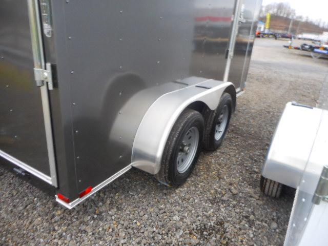 2019 Spartan 7 X 12 Tandem Axle Enclosed Cargo Trailer