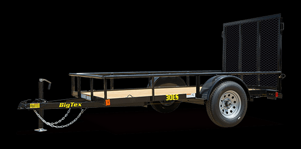 2019 Big Tex Trailers 30ES 5X10 Single Axle Economy Utility Trailer