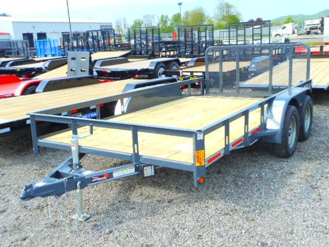 2018 Heartland 7x14 HD with Dovetail Utility Trailer