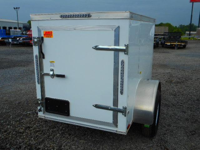 2018 Precision 4x6 Enclosed Cargo Trailer