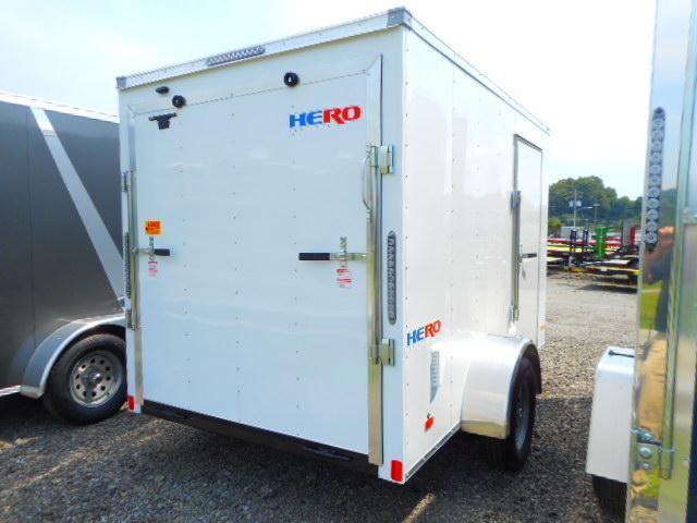 2019 Bravo Trailers Hero 6x10 Single Axle Enclosed Cargo Trailer