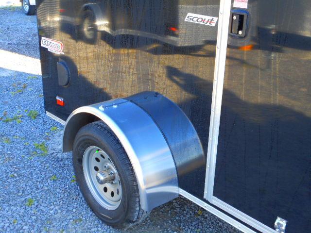 2019 Bravo Trailers Scout 6 X 10 Single Axle Enclosed Cargo Trailer