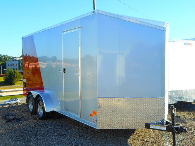 2019 Bravo Trailers Scout 7x16 Tandem Axle 7k Enclosed Cargo Trailer