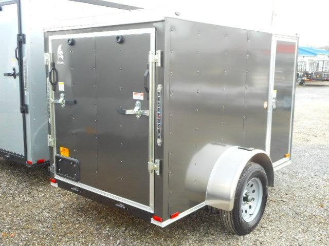 2019 Spartan 5 X 8 Singe Axle Enclosed Cargo Trailer
