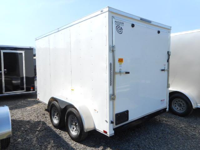 2018 Precision 7x12 Tandem Axle Enclosed Cargo Trailer