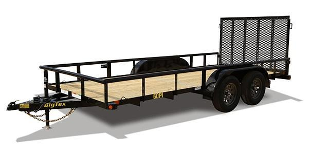 2020 Big Tex Trailers 60PI 77 X 16 Utility Trailer