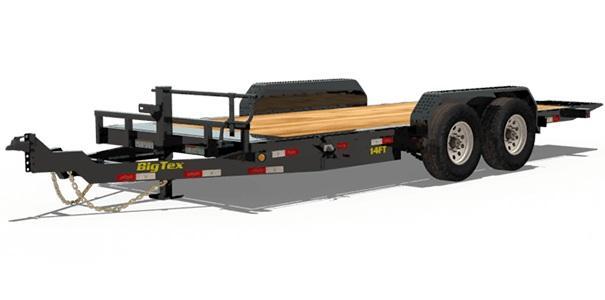 2020 Big Tex Trailers 14TL 83 X 20 Tilt Equipment Trailer