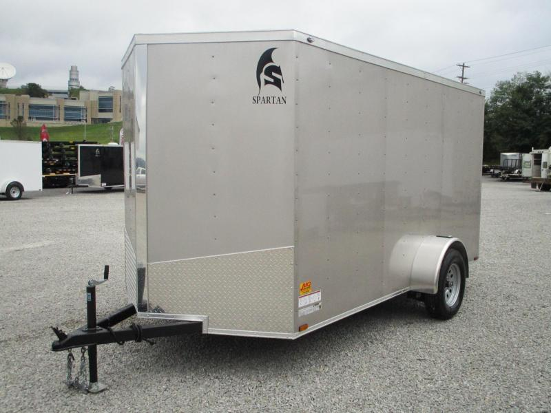 2020 Spartan 6 X 12 Enclosed Cargo Trailer