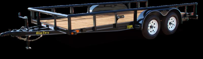 2019 Big Tex Trailers 70PI 83''x16 Utility 7k Trailer