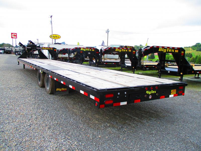 USED 2019 Big Tex Trailers 25GN 102 X 40 Equipment Trailer