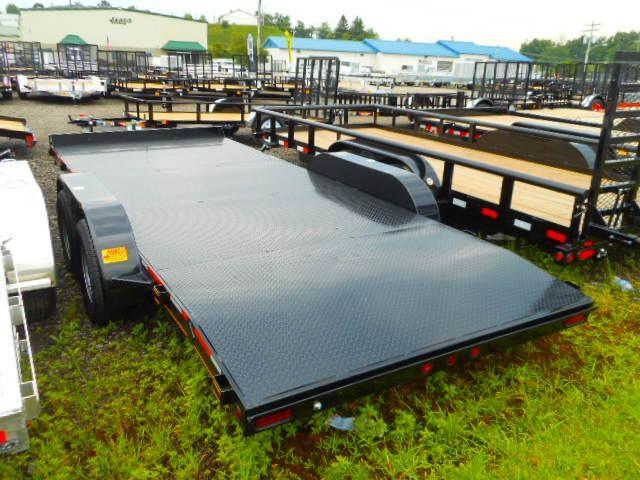 2018 Heartland 7x18 Steel Deck 7k Car Hauler Trailer
