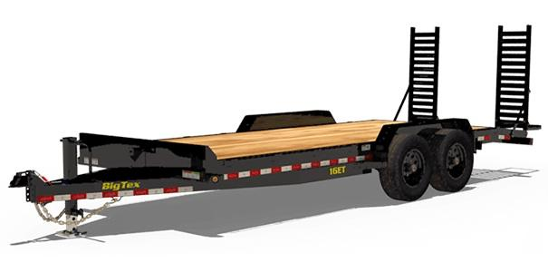 2020 Big Tex Trailers 16ET 83 X 20 Equipment Trailer