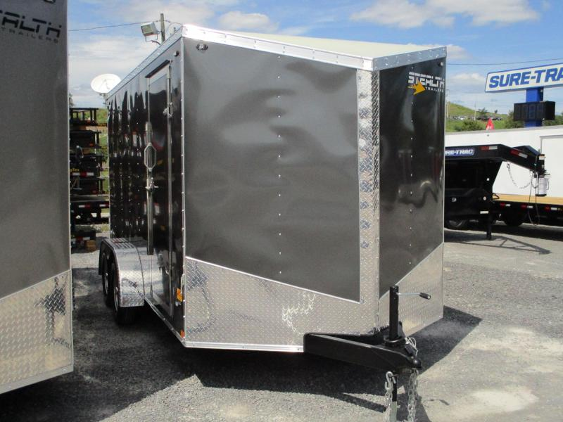 2020 Stealth Trailers Mustang SE 7 X 14 Enclosed Cargo Trailer