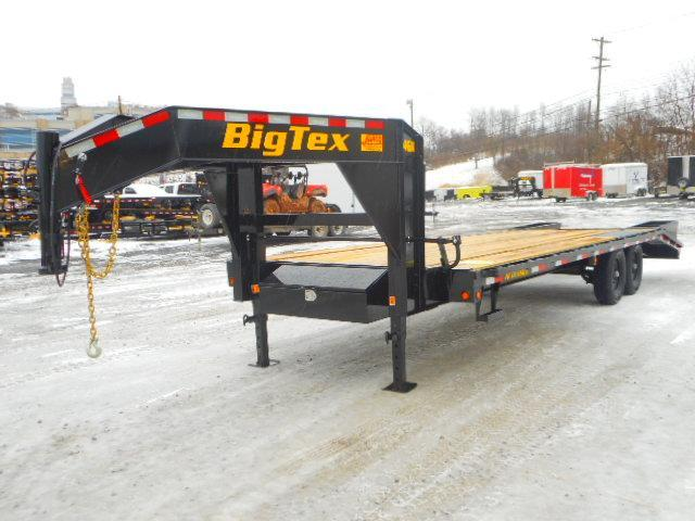 2019 Big Tex Trailers 14GN 102'' X 20 + 5 Equipment Trailer
