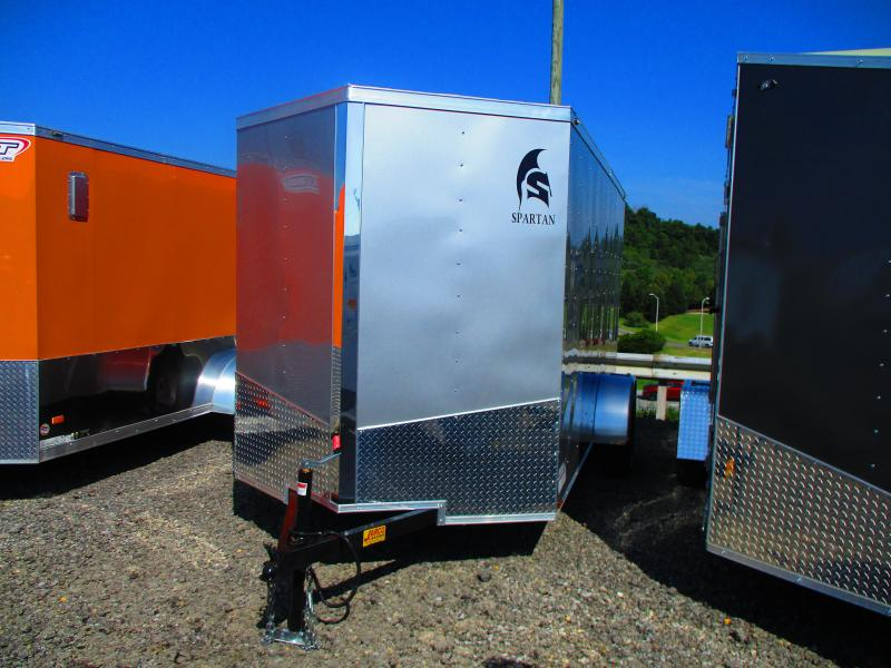 2020 Spartan 6X12 Enclosed Cargo Trailer