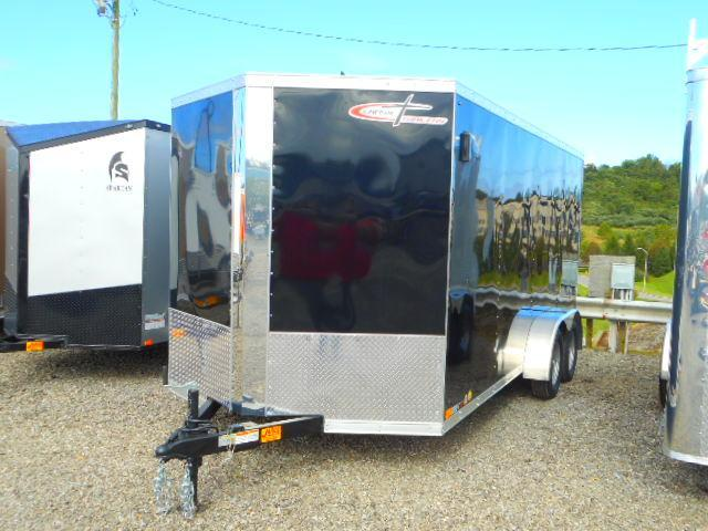 2019 Cross Trailers Alpha Series 7 x 16 TA Enclosed Cargo Trailer