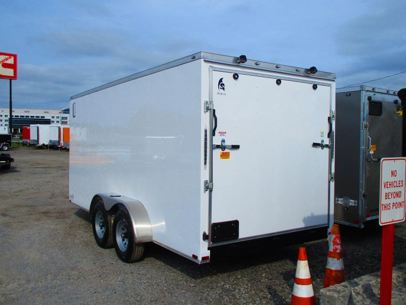 2019 Spartan 7 X 16 Enclosed Cargo Trailer