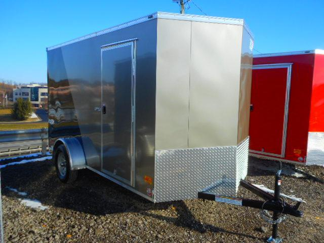 2020 Bravo Trailers Scout 6 X 12 Single Axle Enclosed Cargo Trailer