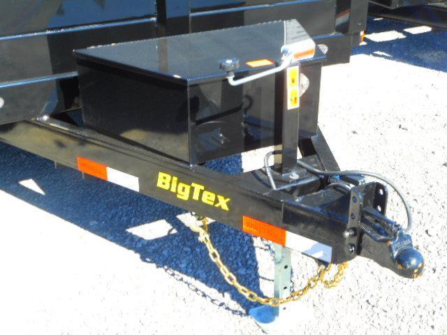 2019 Big Tex Trailers 10K 90SR 6x10 Single Ram Dump Trailer with 7' Slide-in Ramps