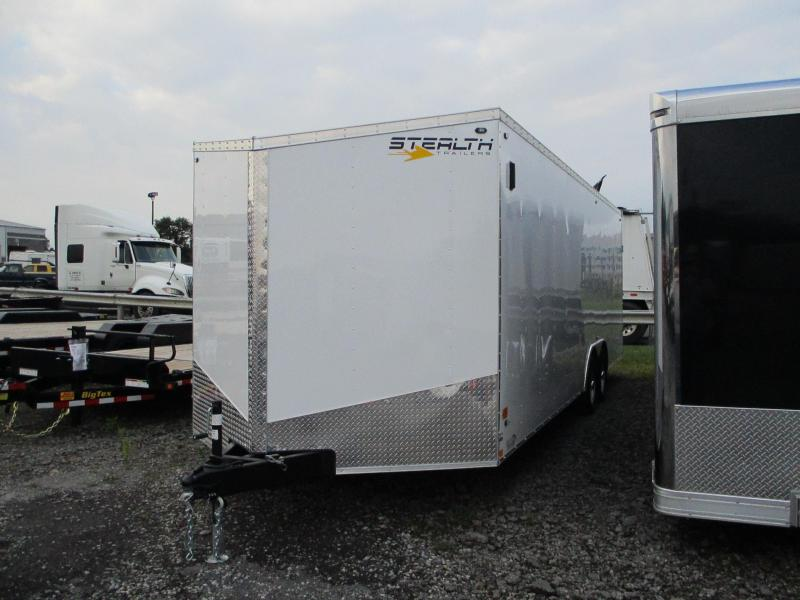 2020 Stealth Trailers Mustang 8.5 X 24 Enclosed Cargo Trailer