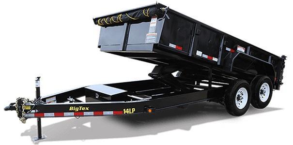 2020 Big Tex Trailers 14LP 83 X 14 Low Profile Dump Trailer