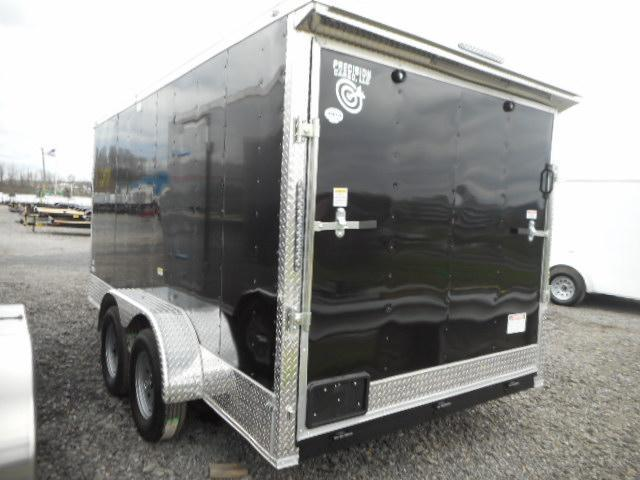 2018 Precision 7x14 Tandem Axle Rocket Package Enclosed Cargo Trailer