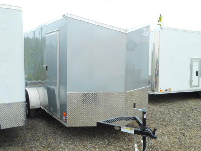 2018 Bravo Trailers 6x12 Single Axle Scout with V-Nose and Ramp Door