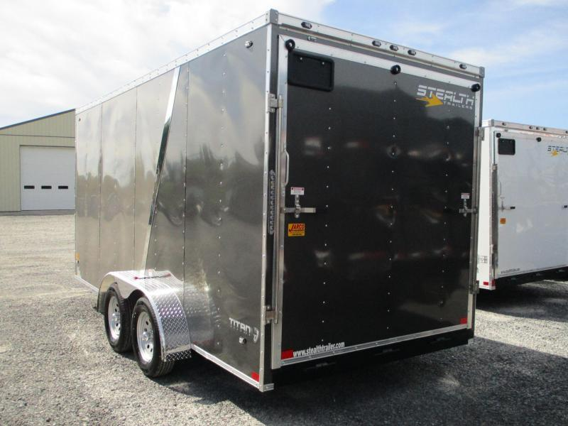 2020 Stealth Trailers Titan 7 X 16 Enclosed Cargo Trailer