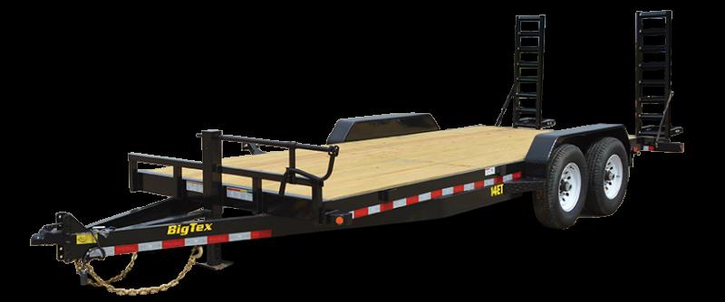 2019 Big Tex Trailers 14ET 83''x20 Tandem Axle 14k Equipment Trailer