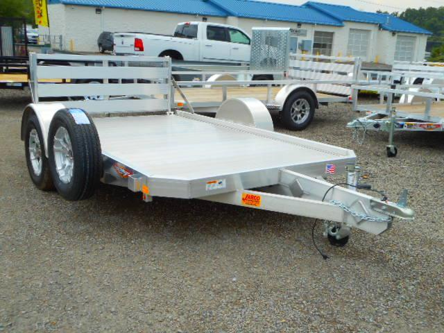 2018 H and H Trailer 6x10 Low Side Aluminum Utility Trailer